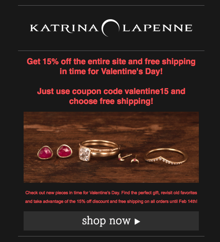 Valentine Coupon