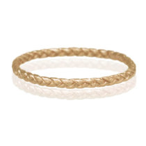 14k yellow gold Small Braid Ring