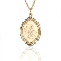 Custom Monogram Pendant