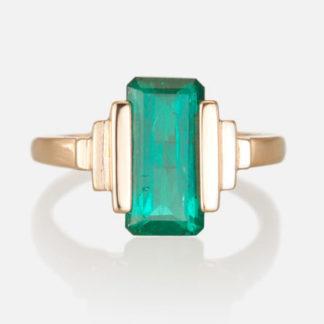Custom Emerald Ring