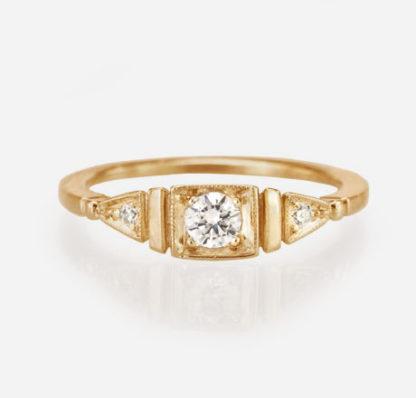 Ella Ring 14K Yellow Gold