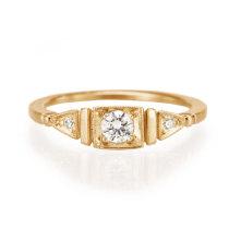 18k rose gold Ella Ring