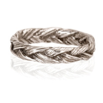Large braid ring