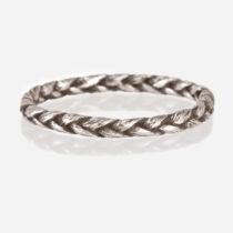 Sterling Silver Medium Braid Ring