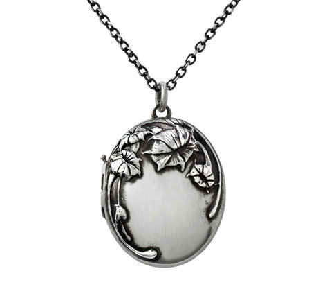 Moonflower Locket