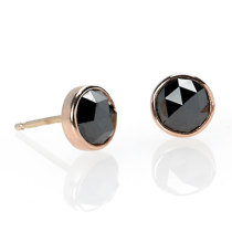 Old World Black Diamond Studs
