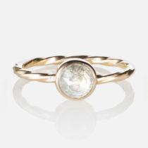 Round Diamond Old World Ring