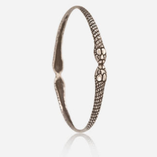 Snake Bangle Sterling Silver