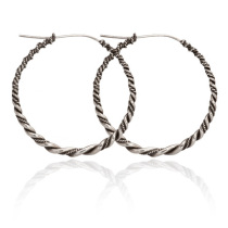 Freya Twist Hoops