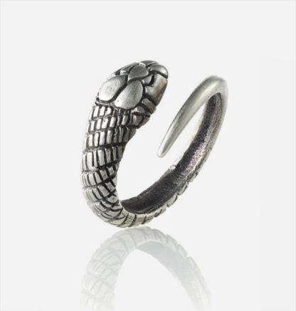 Snake Ring Sterling Silver