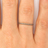 Silver Small Braid Ring