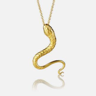 Snake Pendant Gold