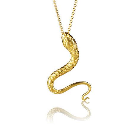 Snake pendant katrina lapenne snake pendant gold aloadofball Images