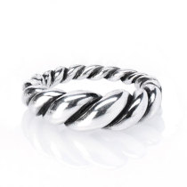 Twist Ring Silver